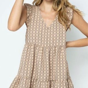 Perfect most adorable checkered dress!